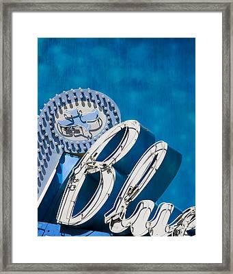 Blue Framed Print by Juli Scalzi
