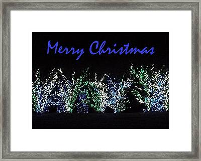Blue Christmas Framed Print by Darren Robinson