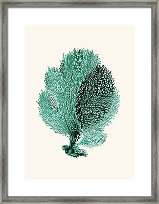 Blue Coral Framed Print