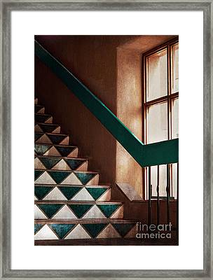 Blue Corn Cafe Santa Fe Framed Print