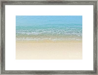 Blue Crush Framed Print by Sharon Mau