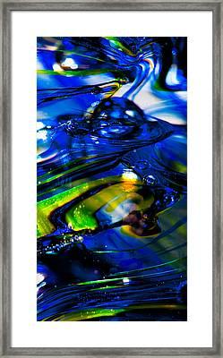 Blue Crystal Framed Print by David Patterson