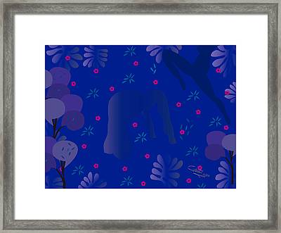 Blue Dance - Limited Edition  Of 30 Framed Print