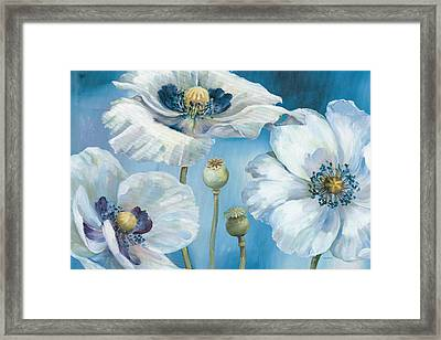 Blue Dance I Framed Print by Lisa Audit