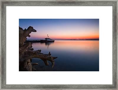 Blue Danube Framed Print