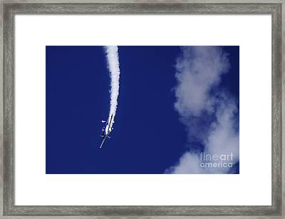 Blue Daredevil Framed Print