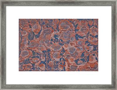 Blue Framed Print by Darice Machel McGuire