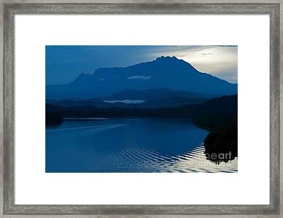 Framed Print featuring the photograph Blue Dawn  by Gary Bridger