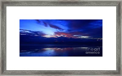 Deep Dawn Ponte Vedra Framed Print