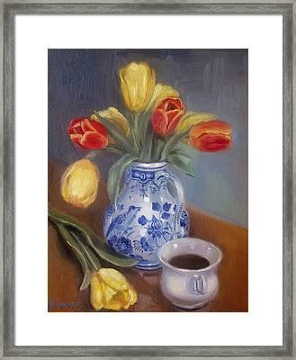Blue Delft Framed Print