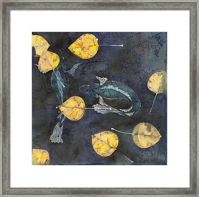 Blue Depths Framed Print