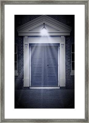 Blue Door Framed Print by Svetlana Sewell