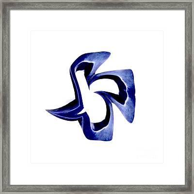 Blue Dove Framed Print