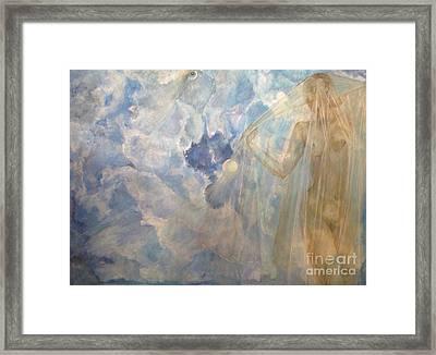 Blue Dream Framed Print by Delona Seserman