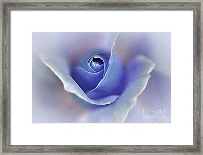 Blue Elegance Framed Print