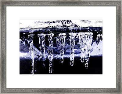 Blue Eycz Framed Print