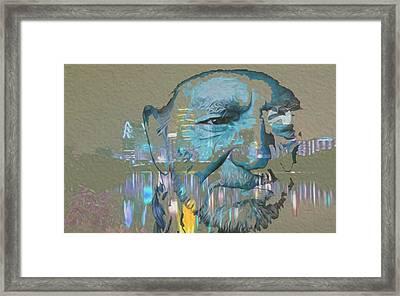 Blue Eyes Cryin' Framed Print