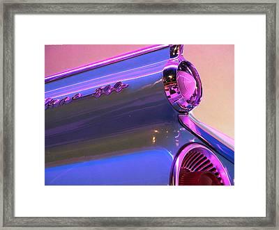 Blue Fin Framed Print