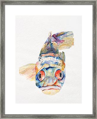 Blue Fish   Framed Print by Pat Saunders-White