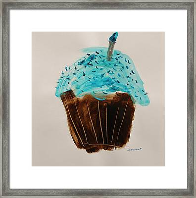 Blue Flame  Blue Jimmies Framed Print by John Williams