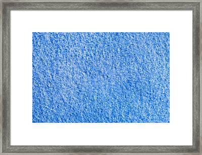 Blue Fleece Framed Print by Tom Gowanlock