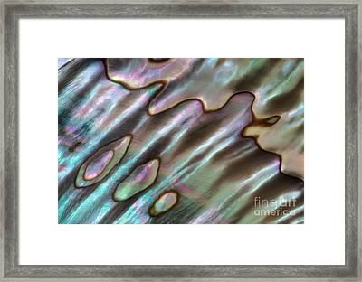 Blue Flow Framed Print by Alice Cahill