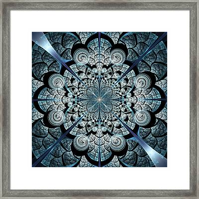 Blue Gates Framed Print by Anastasiya Malakhova