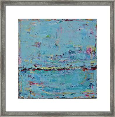 Blue Harmony Framed Print