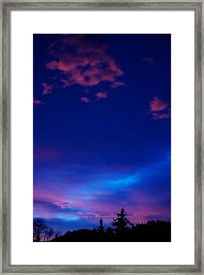Blue Heaven  Framed Print by Kevin Bone