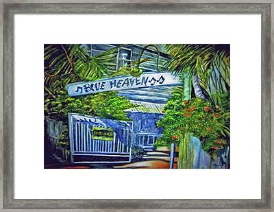 Blue Heaven Key West Framed Print