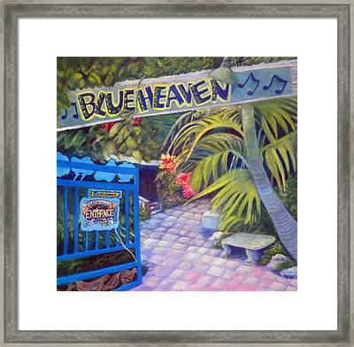 Blue Heaven New View Framed Print