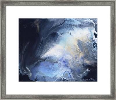 Blue Heavens Framed Print