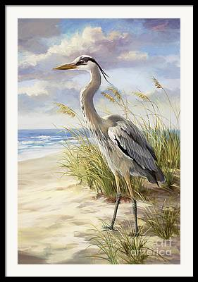 Sea Oats Paintings Framed Prints