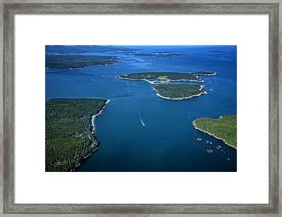 Blue Hill Bay Framed Print by Rick Berk