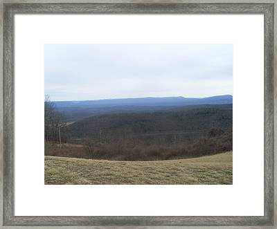 Blue Hills  Framed Print by Kiara Reynolds