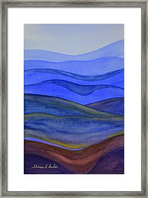 Blue Hills Framed Print