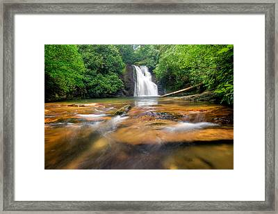 Blue Hole Falls Framed Print by Scott Moore