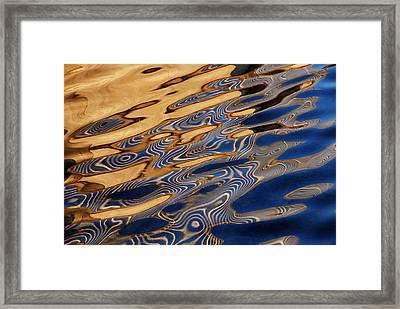 Blue Honey Framed Print