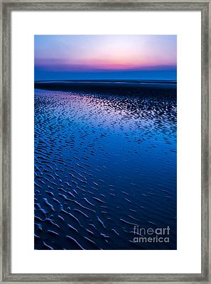 Blue Hour  Framed Print by Adrian Evans