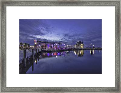 Blue Hour Dawn Framed Print