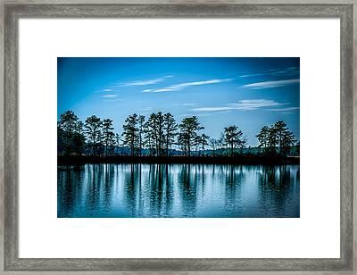 Blue Hour Framed Print by Louis Dallara