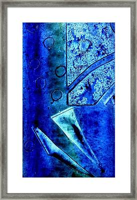 Blue I Framed Print