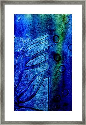 Blue  IIi  Framed Print