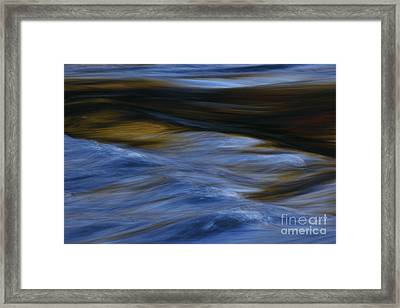 Framed Print featuring the photograph Blue Georgia Impressions by John F Tsumas