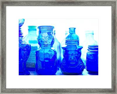 Blue In The Face Framed Print by Jon Woodhams