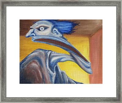 Blue - Internal Framed Print by Jeffrey Oleniacz