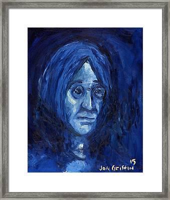 Blue John Framed Print by Jon Griffin