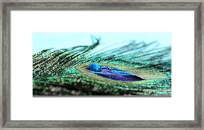 Blue Framed Print by Krissy Katsimbras
