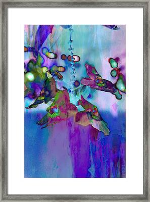 Blue Lagoon Framed Print by Carol Kinkead