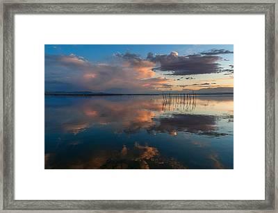 Blue Lagoon. Valencia Framed Print